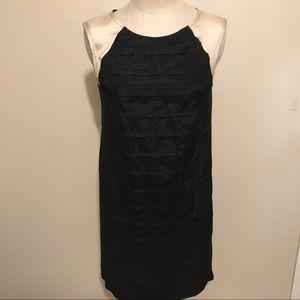 Black & ivory sleeveless dress, J.Crew, size 6